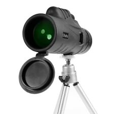 NEW 12X52 Waterproof Zoom Optical HD Lens Monocular Telescope+Tripod+Carry Bag