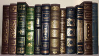 FRANKLIN LIBRARY 12 Volumes 100 Greatest  Scuffs, Some Wear to the gilt Leather