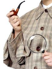 Sherlock Holmes Kit Lente di ingrandimento PIPE Vittoriano TV detective Sherlock