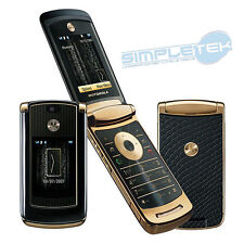 Motorola MOTORAZR2 V8 LUXURY GOLD EDITION 2GB Entsperrt Telefon Handy UK