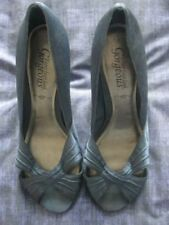 New Look Patternless Peep Toes Synthetic Heels for Women