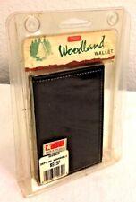 Vintage Heritage Leathers Woodland Wallet Black