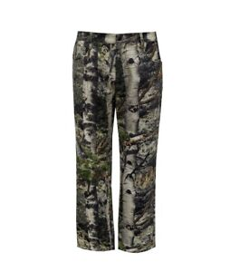 Mossy Oak Men's Cotton / Poly / Spandex Flex XXL (44-46) Camo 5-Pocket Pants