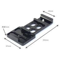 CNC Aluminum 20mm Side Rail Mount for GoPro Hero 1 2 3 4 5 for xiaomi yi /Gitup