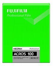 FUJI NEOPAN ACROS 100 4x5 film 20 sheets