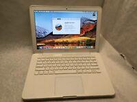 """Apple MacBook A1342 Unibody - 2.26GHZ 250GB - 13.3"""" - OSX 10.13 High Sierra"""