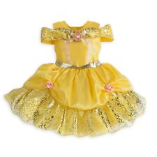 Disney Store Belle Deluxe Baby Dress Beauty & the Beast Princess Costume 3/6 Mo.