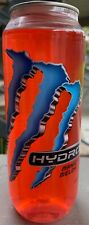 NEW MONSTER HYDRO MANIC MELON ENERGY DRINK 16.9 FL OZ FULL BOTTLE FREE SHIPPING