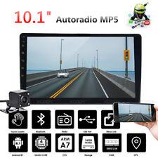 "10.1"" 2 Din Android 8.1 Autoradio Stereo GPS Navi Bluetooth FM WIFI + Telecamera"
