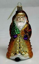Merck Family Old World Christmas ST. PETERSBURG Nicholas SANTA  Glass Ornament