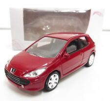 "PEUGEOT 307 Rouge 1/64 ""3 Inche"" Norev Diecast Neuf Boite"
