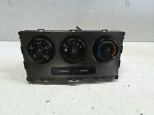 Toyota Corolla Hatchback Heater/Air Conditioning Controls 2007 to 2012 ZRE152R