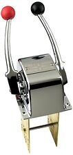 Pactrade Marine Twin Lever Engine Control Made Of Chrome Plated Brass For Boat