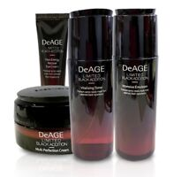 Charmzone DeAGE Limited Black Addition 4kinds set Anti-Aging Korean Cosmetic