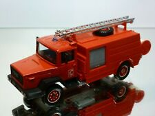 SOLIDO IVECO TRUCK FIRE ENGINE - RED L12.5cm - GOOD CONDITION