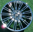 Chrome Factory Bentley Continental Wheel 1 New OEM GT SPEED 20 inch Flying Spur