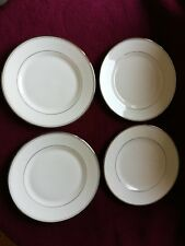 WATERFORD KILBARRY PLATINUM(4 SALAD/SIDE PLATES) 8 INCHES/20cm EXCELLENT