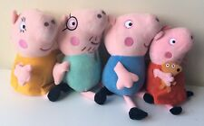 Peppa Pig Family Plush Toys