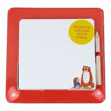 Magnetic List Pad On Backing Robert Frederick Square Card with Pencil Tiger