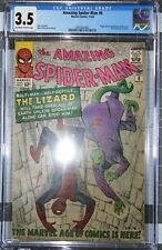 Amazing Spider-Man #6 CGC 3.5 1st app Lizard (Curt Connors) Sinister Six