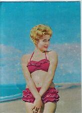 PIN UP Girl Sexy Bikini Beach PC 1950s Real Photo Early 3D Metallic effect 4