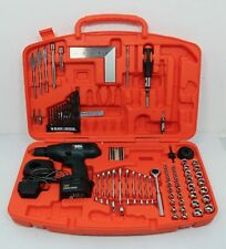 Black And Decker Drill & Tool Set Incomplete With Cordless Drill