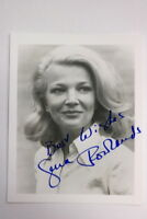 Gena Rowlands Autogrammkarte Autograph