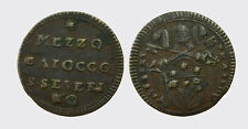 SAN SEVERINO - PIO VI 1775-1799 -AE/ 1/2 BAIOCCO A. XXIII