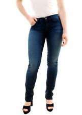 J BRAND Women's Avalon Cigarette Leg Jeans 814C006 Blue W24 RRP £180 BCF71