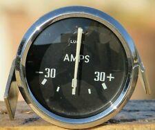 Lucas Amps Ammeter Gauge Amperometro Triumph Tr2-Tr3-Tr4