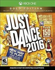(NEW SEALED) JUST DANCE 2016 GOLD EDITION FAMILY PARTY GAME XBOX ONE