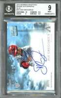 2013 bowman inception blue #DG DIDI GREGORIUS rc auto BGS 9 (10 8.5 9 8.5)
