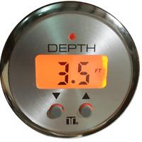OEM Oran Backlight LED Depth Finder/Sounder Transom Mount  Or Glue In Transducer