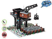 Bekohlungsanlage - PDF-Bauanleitung- Kompatibel zu LEGO