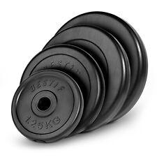 Hantelscheiben Kunststoff Gewicht 1,25kg 2,5kg 5kg 10kg 20kg Gewichtsscheiben