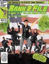 Rank & File Guide vol 2.1 G.I. Joe Reference book Rise of Cobra Pursuit
