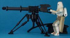 STAR Wars POTF Deluxe Loose MOLTO RARO Snowtrooper con E-Web Pesante ripetere Blaster.