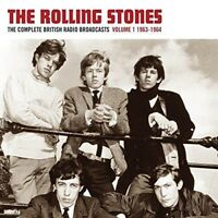 THE ROLLING STONES - COMPLETE RADIO BROADCASTS VOL.1 (RED VINYL) VINYL LP NEU