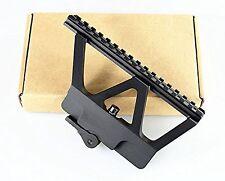 """Saiga Tactical Quick Detach Mount Gun Side Rail Scope Picatinny 6.75"""" Long Rail"""