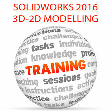 SolidWorks 2016 Ultimate 3D-2D Modelling-Video Training Tutorial DVD