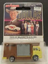 Majorette Dallas Ewing Horse Cattle Truck Mercedes Benz 254 Die-Cast France A