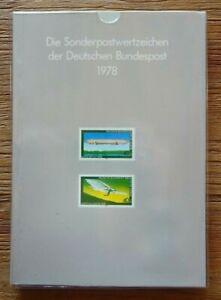 Bund + Berlin Jahrbuch 1978 postfrisch komplett mit SD Jahreszusammenstellung