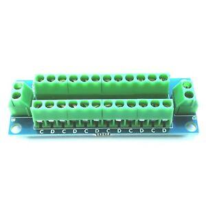 RKbus1, 2 & 3 Bus Wiring Module for Model Railway - Ideal for Lighting, DCC etc