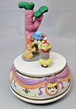 Glama Clown Figurine Music Box Musical Dancer