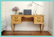 *CLEARANCE SALE!* NEW French Provincial Hamptons Style Solid Oak Writing Desk