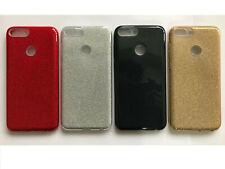 Bling Glitter a prueba de choques brillante suave TPU caso cubierta posterior para varios Samsung