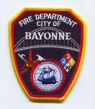 Bayonne Fire Department Patch New Jersey NJ v2