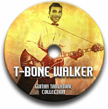T-BONE WALKER BLUES ROCK GUITAR TAB TABLATURE SONG BOOK CD