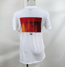 Obey Awareness Women's T-Shirt Redrum White Size S NWT Shepard Fairey Baja Cross
