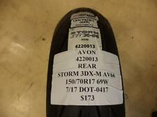 AVON SORM 3DX-M AV66 69W NEW REAR MOTORCYCLE TIRE 4220013